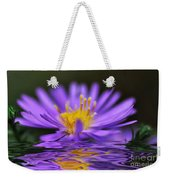 Mauve Softness And Reflections Weekender Tote Bag