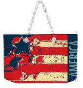 Max Americana In Hope Weekender Tote Bag
