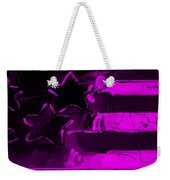 Max Americana In Purple Weekender Tote Bag