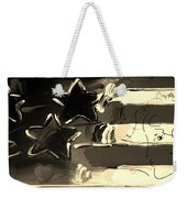 Max Americana In Sepia Weekender Tote Bag