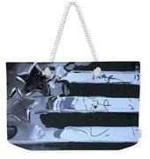 Max Stars And Stripes In Cyan Weekender Tote Bag