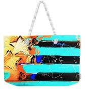 Max Stars And Stripes In Inverted Colors Weekender Tote Bag