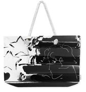 Max Stars And Stripes In Negative Weekender Tote Bag