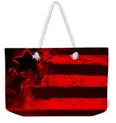 Max Stars And Stripes In Red Weekender Tote Bag