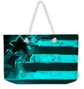 Max Stars And Stripes In Turquois Weekender Tote Bag