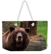 Max The Brown Bear Weekender Tote Bag