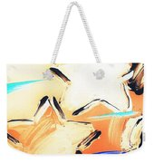 Max Two Stars In Inverted Colors Weekender Tote Bag