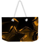 Max Two Stars In Orange Weekender Tote Bag