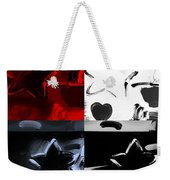 Max Two Stars In Quad Colors Weekender Tote Bag