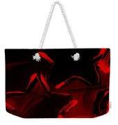 Max Two Stars In Red Weekender Tote Bag