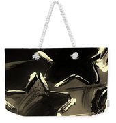 Max Two Stars In Sepia Weekender Tote Bag