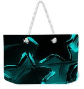 Max Two Stars In Turquois Weekender Tote Bag