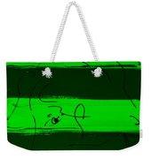 Max Woman In Green Weekender Tote Bag