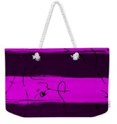 Max Woman In Purple Weekender Tote Bag