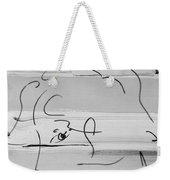 Max Women In Black And White Weekender Tote Bag