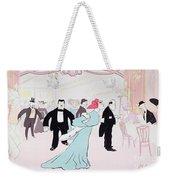Maxims Weekender Tote Bag by Sem