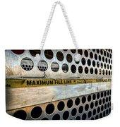 Maximum Fill Weekender Tote Bag