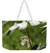 May Apple Flower Weekender Tote Bag