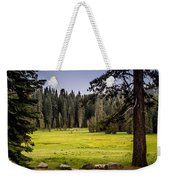 May I Intrude On Your Meadow Weekender Tote Bag