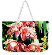 Joy Orchids Weekender Tote Bag
