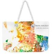 Maya Angelou 1 Weekender Tote Bag