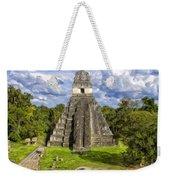 Mayan Temple At Tikal Weekender Tote Bag