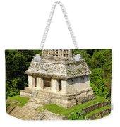 Mayan Temple Weekender Tote Bag