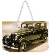 Maybach Car 6 Weekender Tote Bag