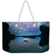 Maybe Stars Weekender Tote Bag by Stelios Kleanthous