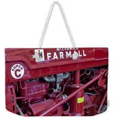 Mc Cormick Farmall Super C Weekender Tote Bag by Susan Candelario