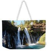 Mcarthur-burney Falls 1 Weekender Tote Bag