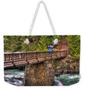 Mcdonald Creek Bridge Weekender Tote Bag