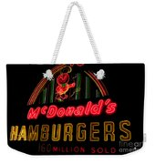 Mcdonalds Sign Weekender Tote Bag