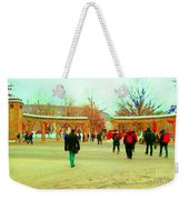 Mcgill Univ Students And Faculty College Campus Montreal Memories Collectible Art Prints C Spandau Weekender Tote Bag