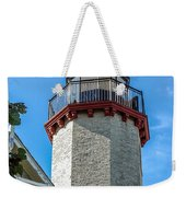 Mcgulpin Point Lighthouse Michigan Weekender Tote Bag