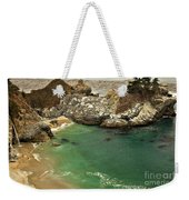 Mcway Falling Into The Pacific Weekender Tote Bag by Adam Jewell