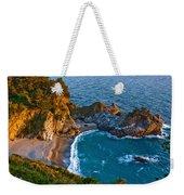 Mcway Waterfall. Big Sur Weekender Tote Bag