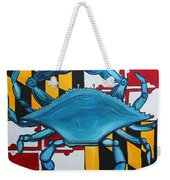 Md Blue Crab Weekender Tote Bag