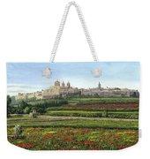 Mdina Poppies Malta Weekender Tote Bag