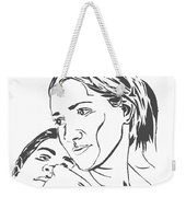 Me And Sarah Weekender Tote Bag