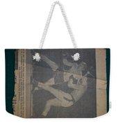 Me Fighting Bill Waits 1954 Weekender Tote Bag