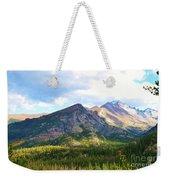 Meadow And Mountains Weekender Tote Bag