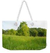 Meadow Blossoms Weekender Tote Bag