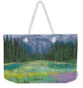 Meadow In The Cascades Weekender Tote Bag