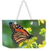 Meadow Monarch Weekender Tote Bag