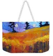 Meadow Mountain Weekender Tote Bag