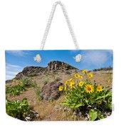 Meadow Of Arrowleaf Balsamroot Weekender Tote Bag
