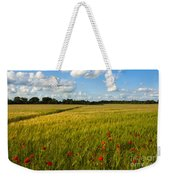 Meadow Of Poppies Weekender Tote Bag