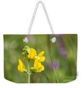 Meadow Vetchling Wild Flower Weekender Tote Bag
