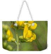 Meadow Vetchling Yellow Flower Weekender Tote Bag